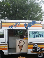 Ice Cream Soft Serve Truck to Hire for your next event